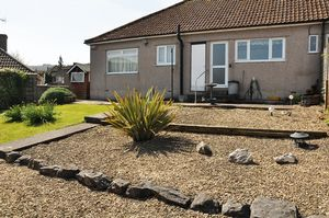 Rear view of bungalow- click for photo gallery